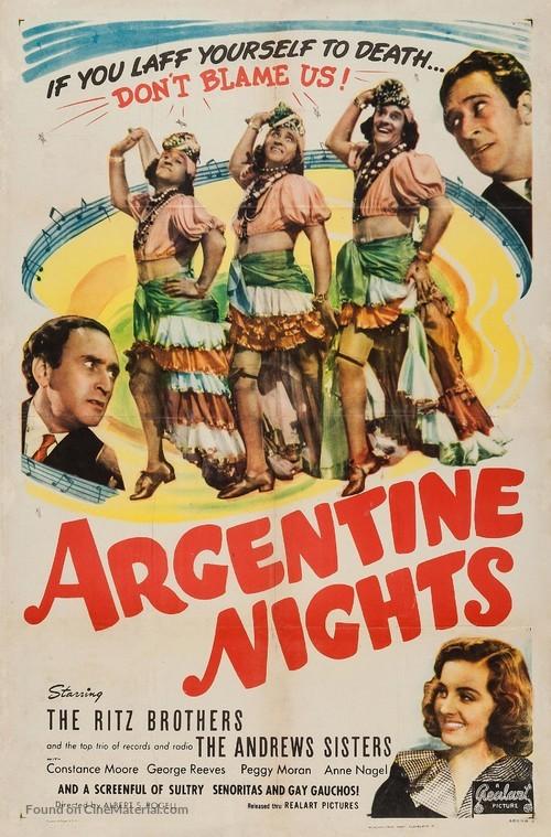 Argentine Nights - Movie Poster