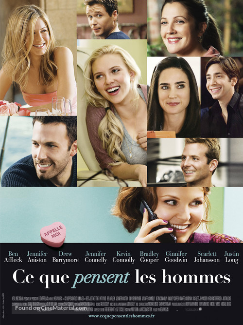 He's Just Not That Into You - French Movie Poster