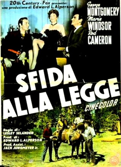 Dakota Lil - Italian Movie Poster