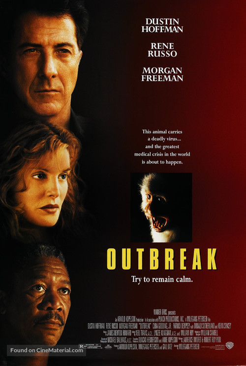 Outbreak - Theatrical movie poster