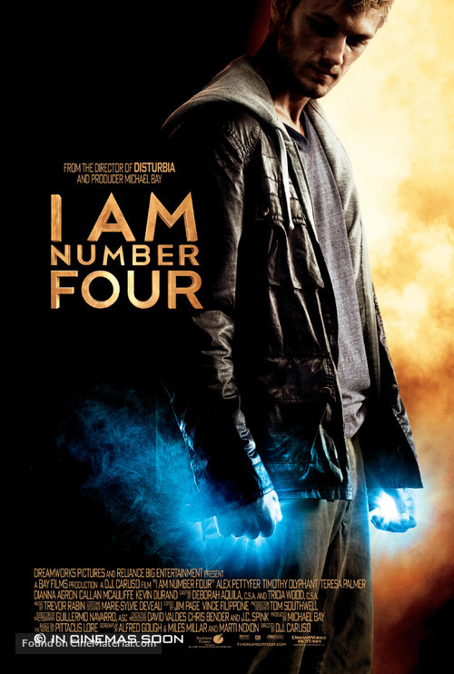 I Am Number Four - Movie Poster