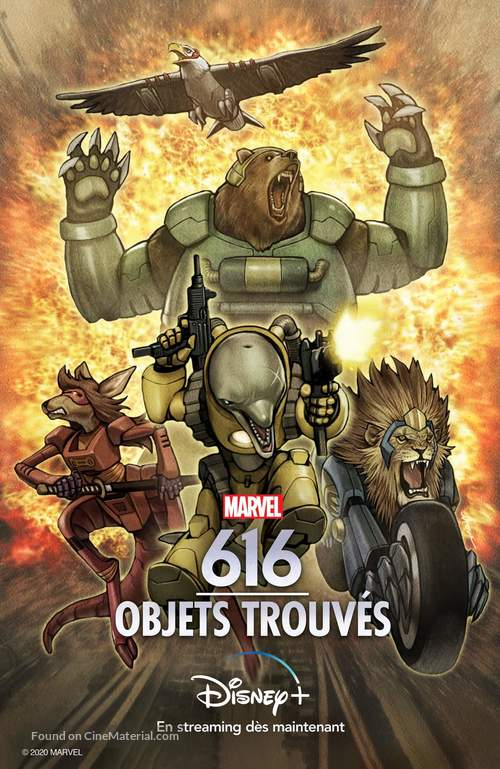 """""""Marvel's 616"""" - French Movie Poster"""