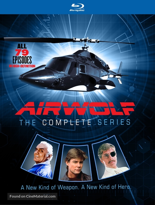 """Airwolf"" - Blu-Ray movie cover"
