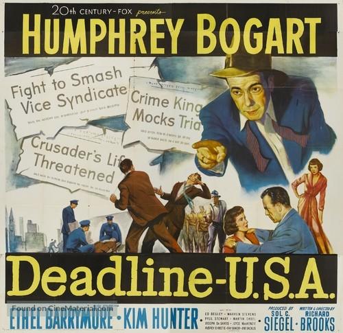 Deadline - U.S.A. - Movie Poster