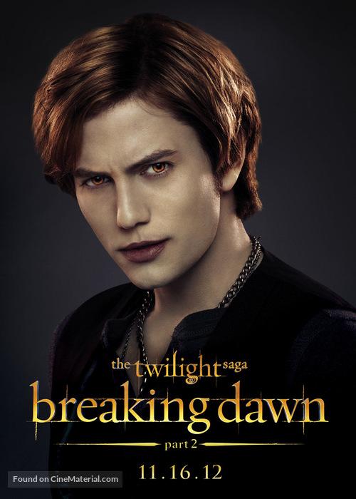 The Twilight Saga Breaking Dawn Part 2 2012 Movie Poster
