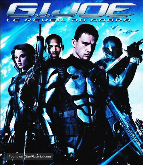 G I Joe The Rise Of Cobra 2009 French Blu Ray Movie Cover
