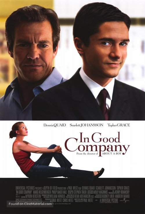 In Good Company - Movie Poster