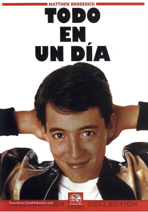 Ferris Bueller's Day Off - Spanish DVD movie cover