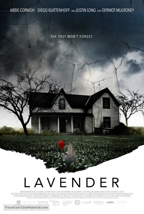 Lavender - Canadian Movie Poster