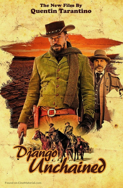 Django Unchained - DVD movie cover