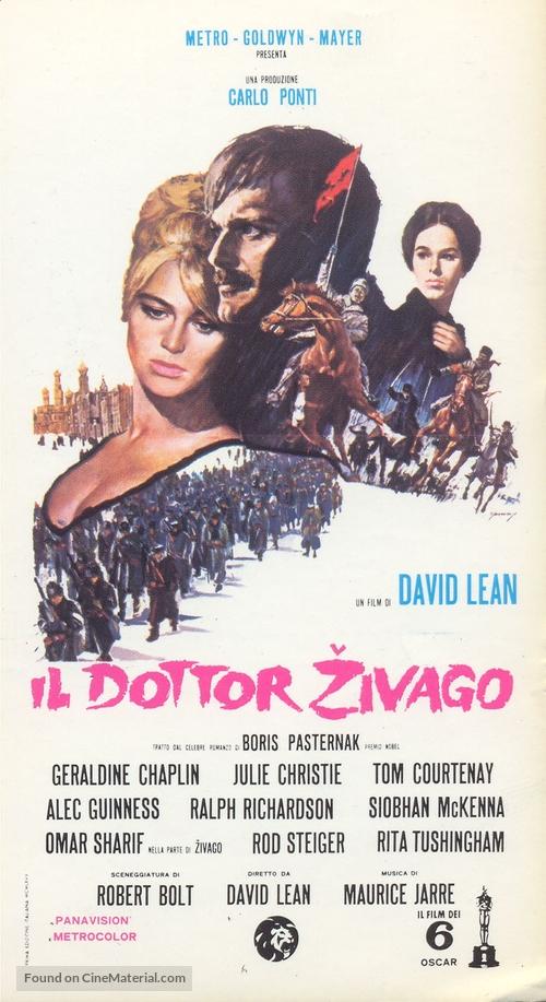 Doctor Zhivago - Italian Movie Poster