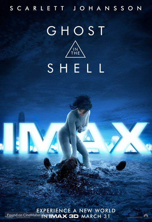 Ghost in the Shell - Movie Poster