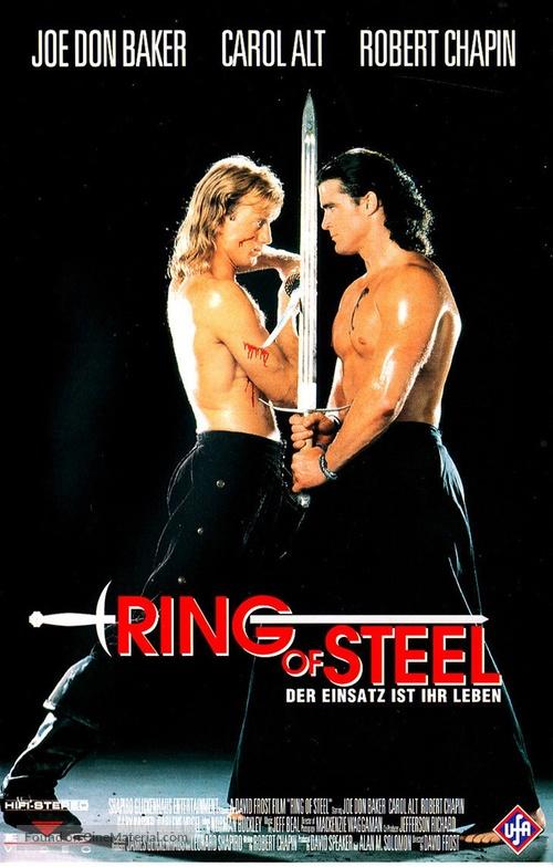 Ring of Steel - German VHS movie cover