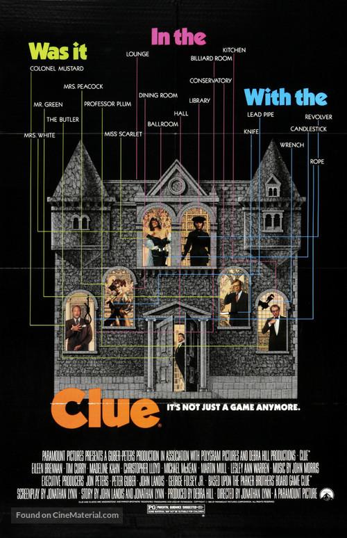 Clue - Movie Poster