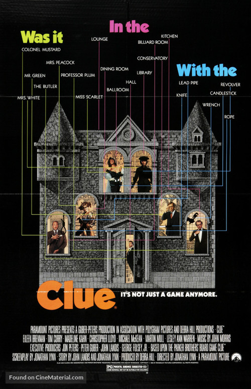 Clue - Movie Poster