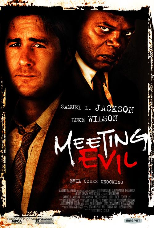 Meeting Evil - Movie Poster