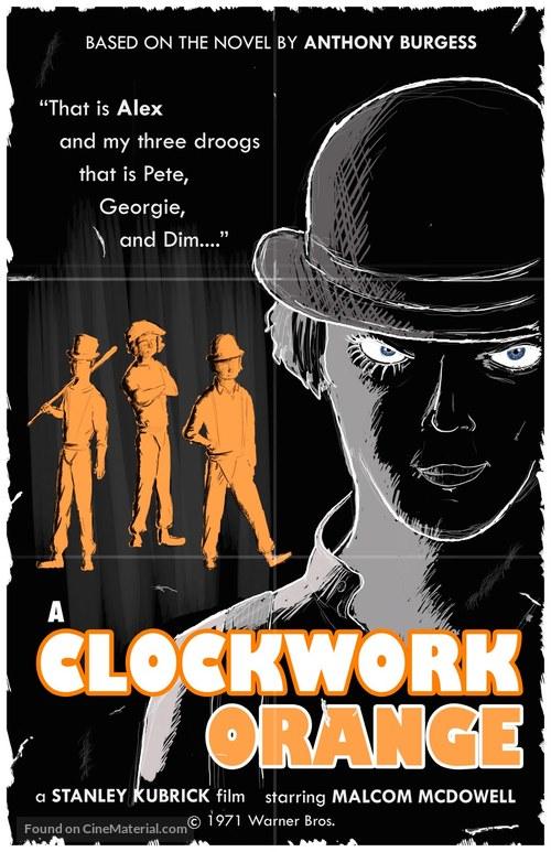 A Clockwork Orange - Movie Cover