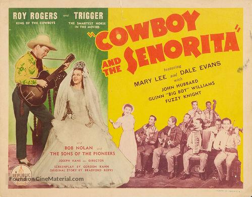 Cowboy and the Senorita - Movie Poster