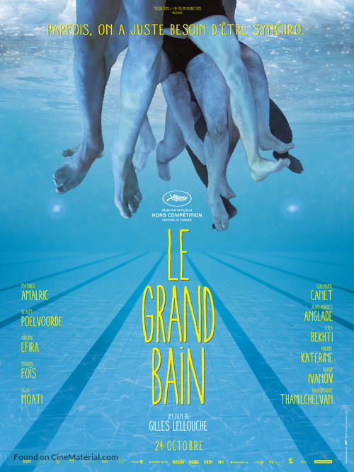 Le grand bain - French Movie Poster