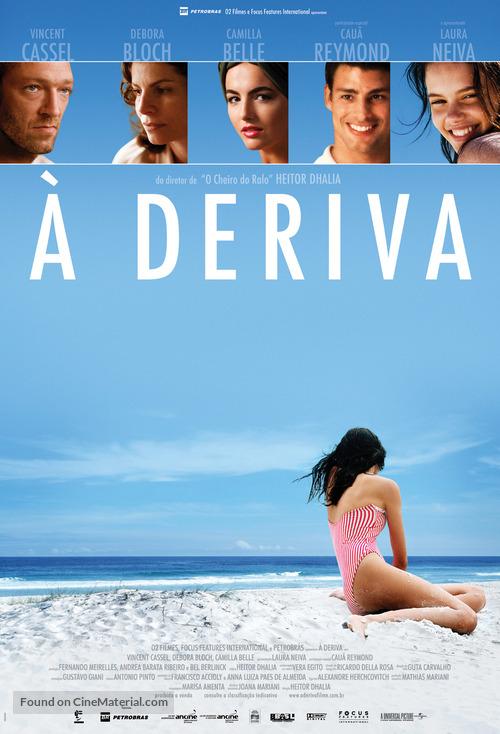 À Deriva - Brazilian Movie Poster
