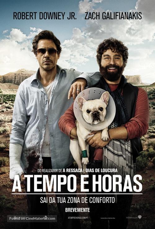 Due Date - Portuguese Movie Poster