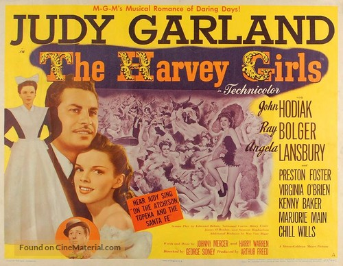 The Harvey Girls - Movie Poster