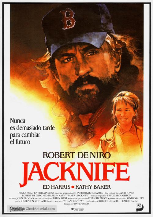 Jacknife - Spanish Movie Poster