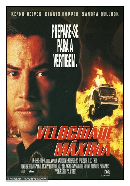 Speed - Brazilian Movie Poster