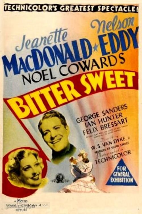 Bitter Sweet - Australian Movie Poster