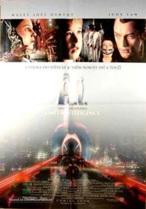 Artificial Intelligence: AI - Czech Movie Poster