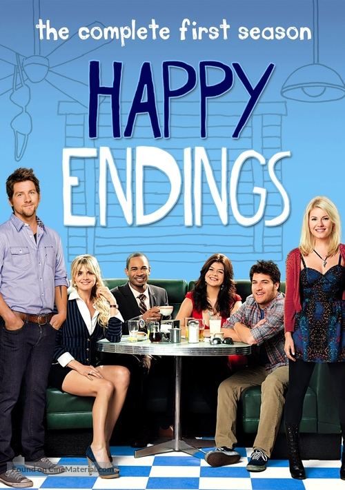 """""""Happy Endings"""" - DVD movie cover"""