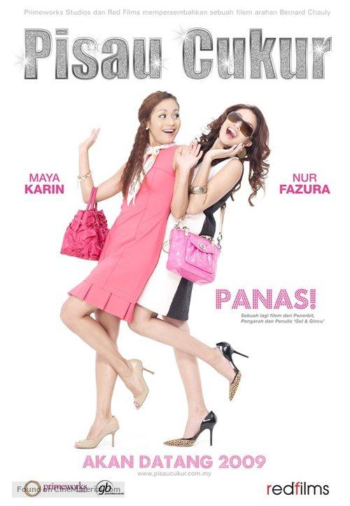 Pisau cukur - Malaysian Movie Poster