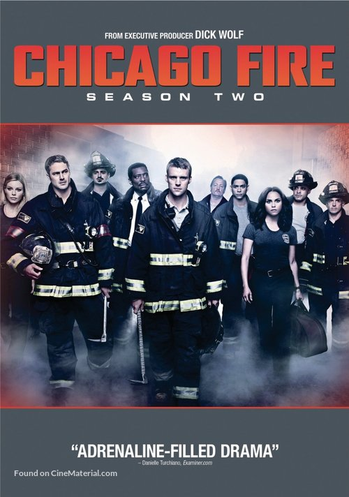 """Chicago Fire"" - DVD movie cover"