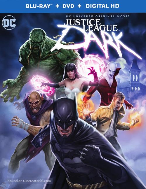 Justice League Dark - Blu-Ray movie cover