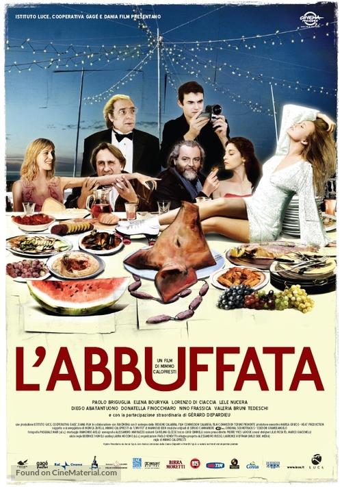 Abbuffata, L' - Italian poster