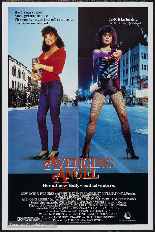 Avenging Angel - Movie Poster
