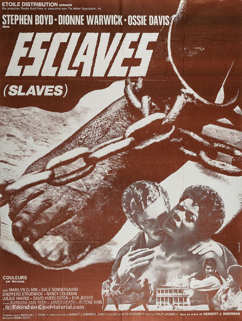 Slaves - French Movie Poster