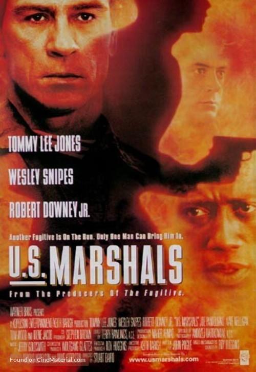 US Marshals - British Movie Poster