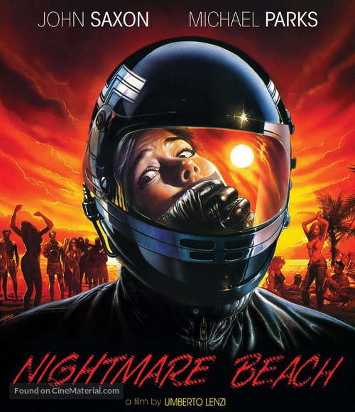 Nightmare Beach - Blu-Ray movie cover