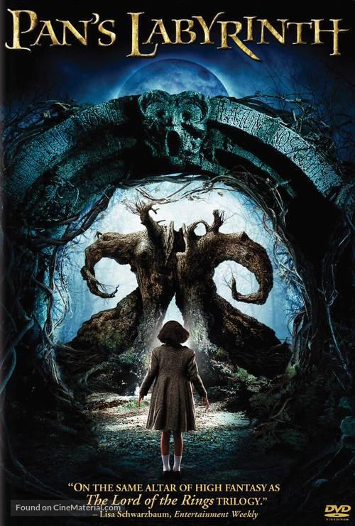 El laberinto del fauno - DVD movie cover