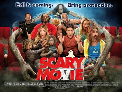 Scary Movie 5 2013 British Movie Poster