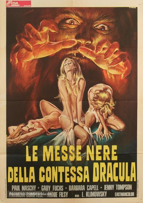 La noche de Walpurgis - Italian Movie Poster