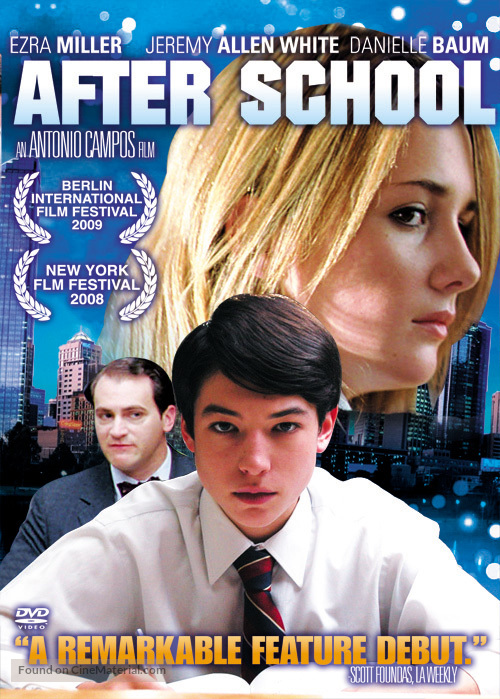 Afterschool - Singaporean Movie Cover