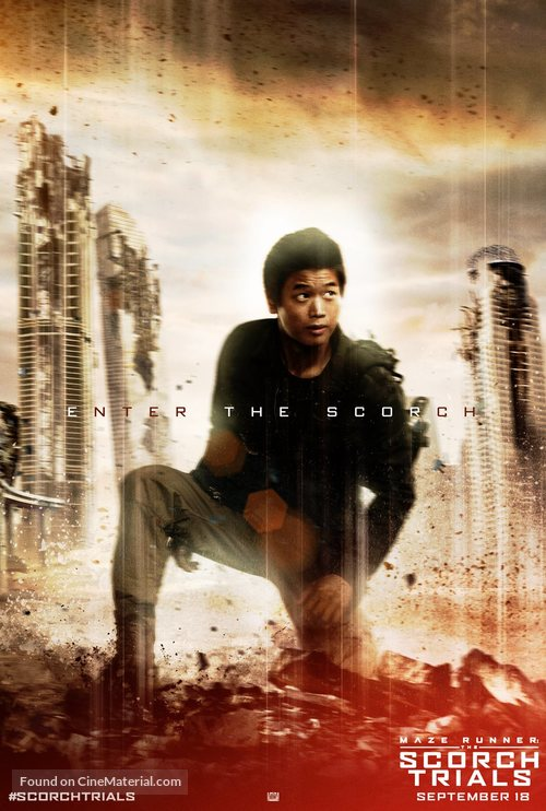 Maze Runner: The Scorch Trials - Movie Poster