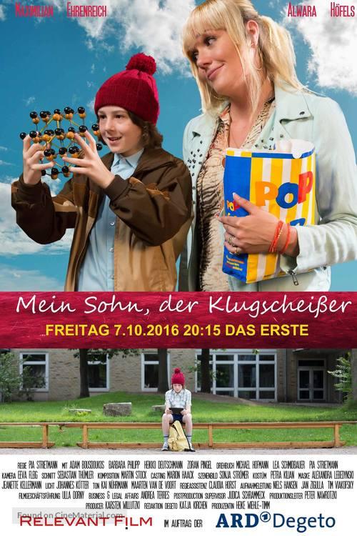 Mein Sohn, der Klugscheißer - German Movie Poster