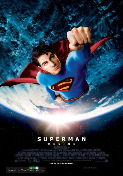 Superman Returns - Romanian Movie Poster