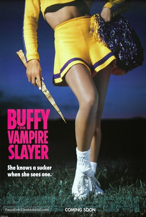 Buffy The Vampire Slayer - Movie Poster