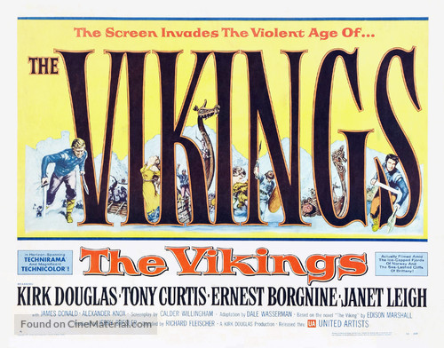 The Vikings - Movie Poster