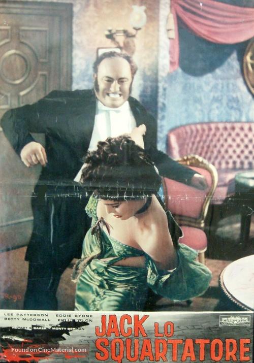Jack the Ripper - Italian Movie Poster