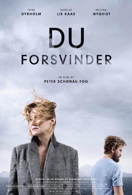 Du forsvinder - Danish Movie Poster